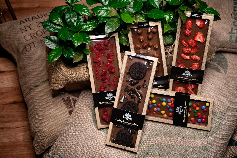 Ręcznie robione belgijskie czekolady