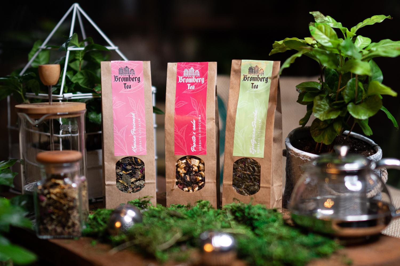 Naturalne herbaty liściaste i owocowe