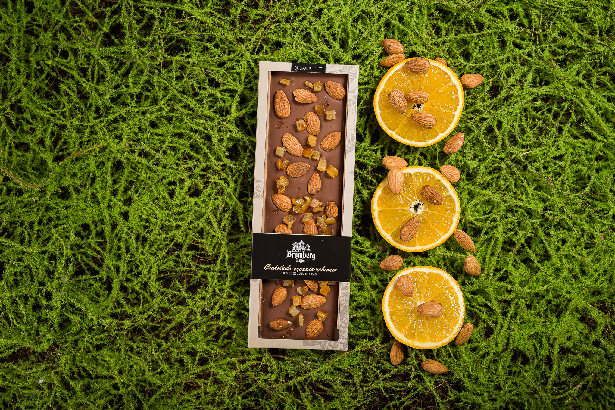 Ręcznie robione czekolady deserowe 55%