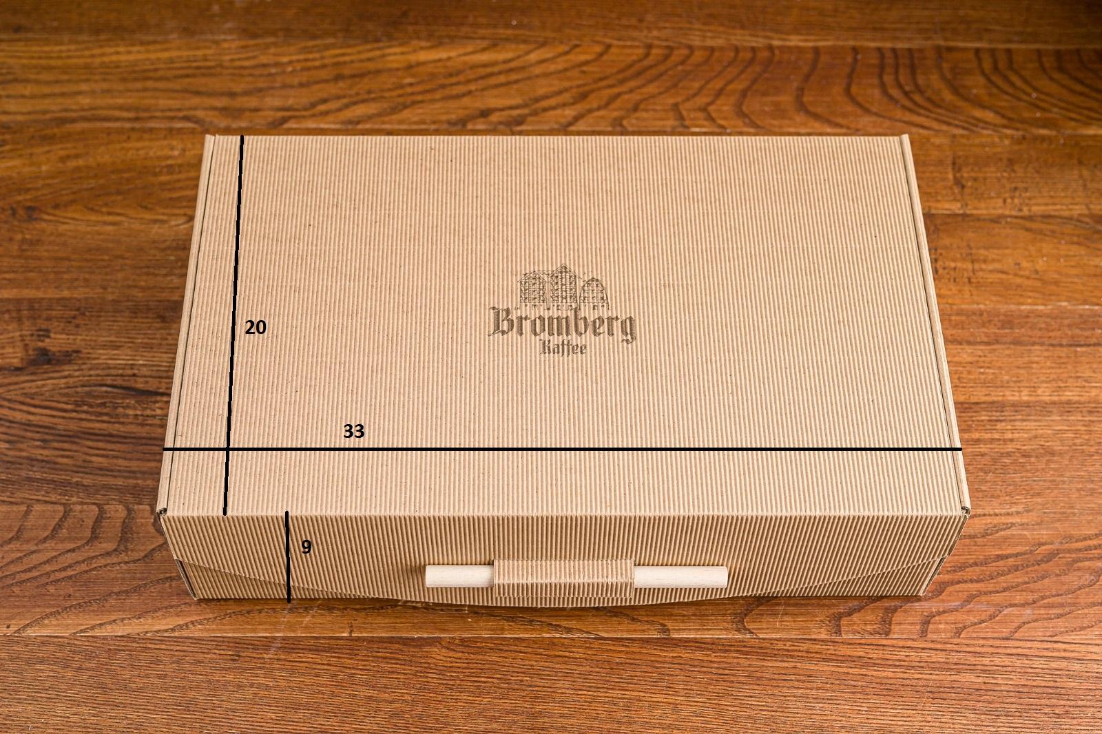 Pudełko z laserowym logo